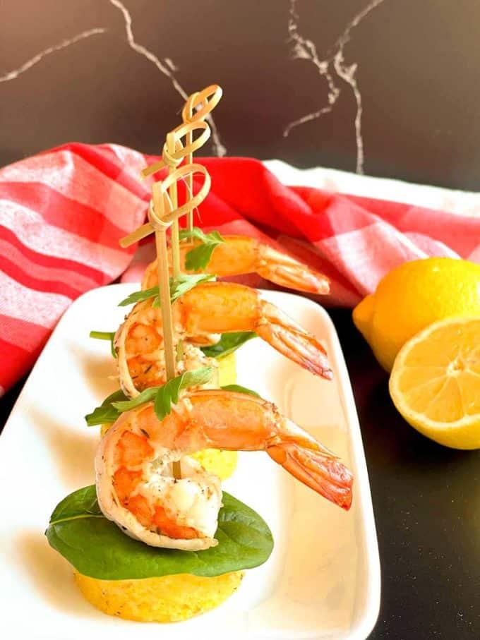 Shrimp 'n Grits Bites