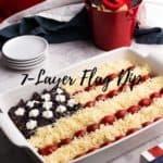 7-Layer Flag Dip