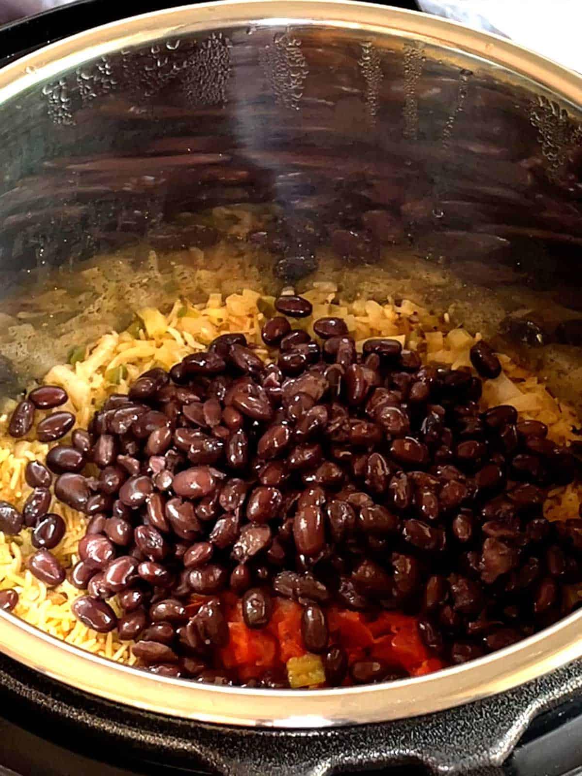 Adding Black Beans