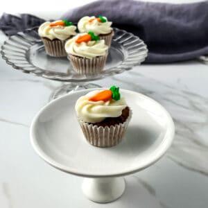 Easy Homemade Mini-Carrot Cupcakes