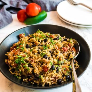Instant Pot Mexican Rice with Black Beans