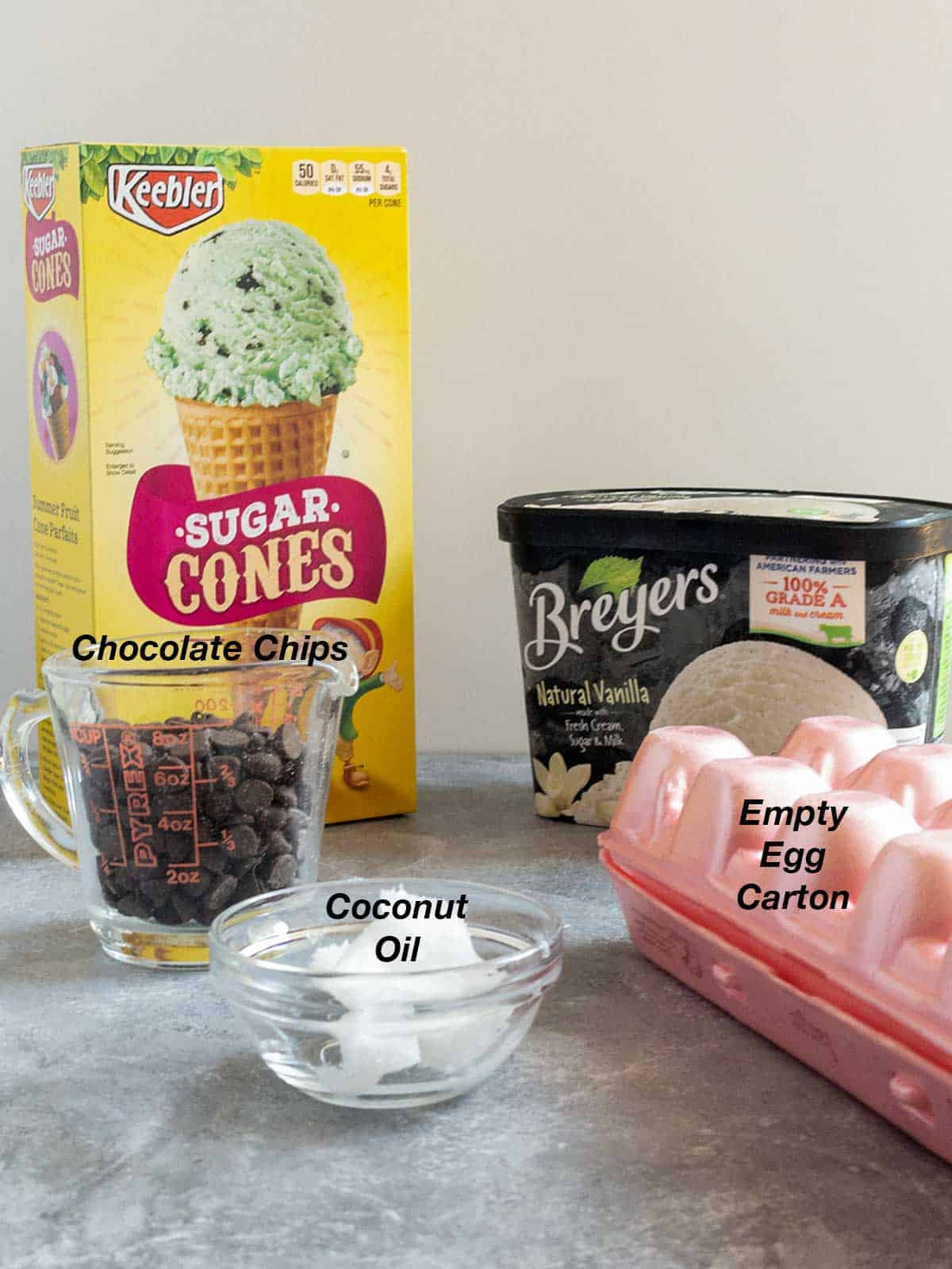 Ingredients for Hold the Cone