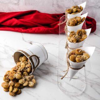 Garlic Parmesan Oyster Crackers