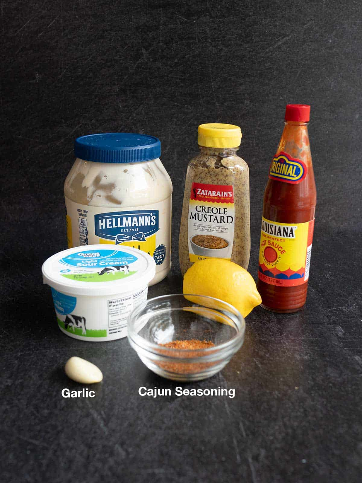 Ingredients for Spicy Dipping Sauce