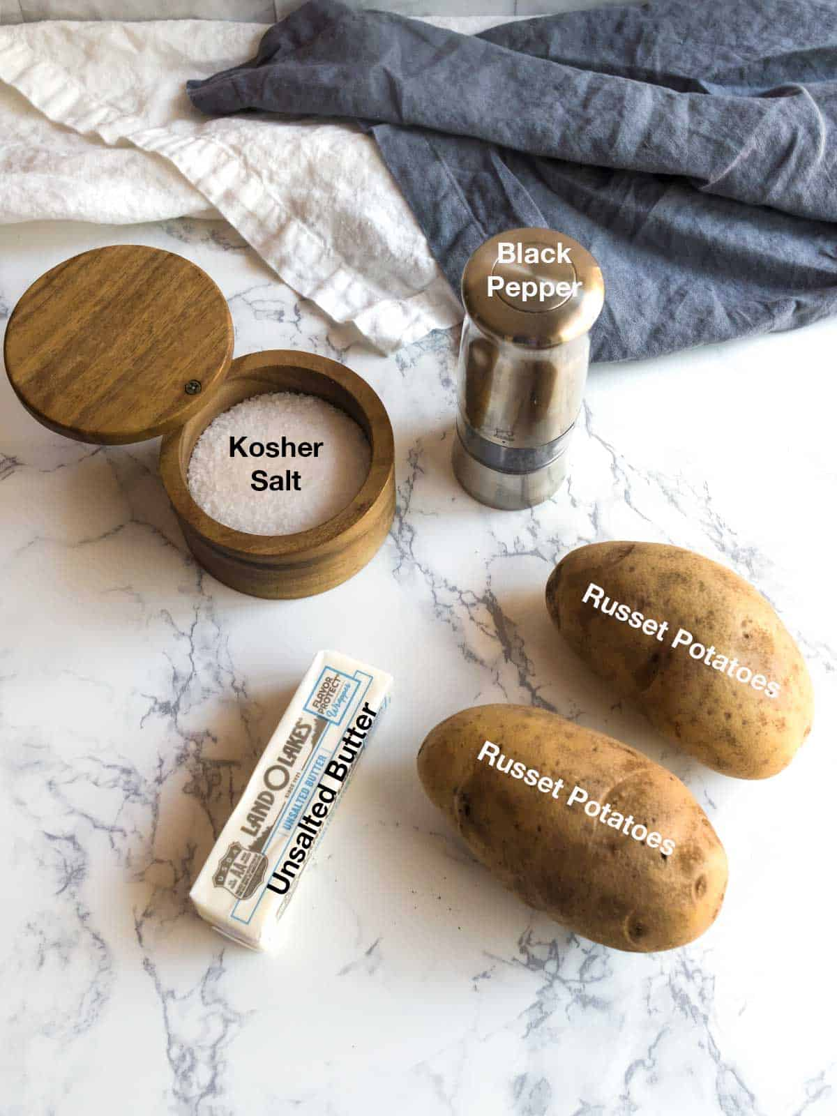 Ingredients for Potato Galette
