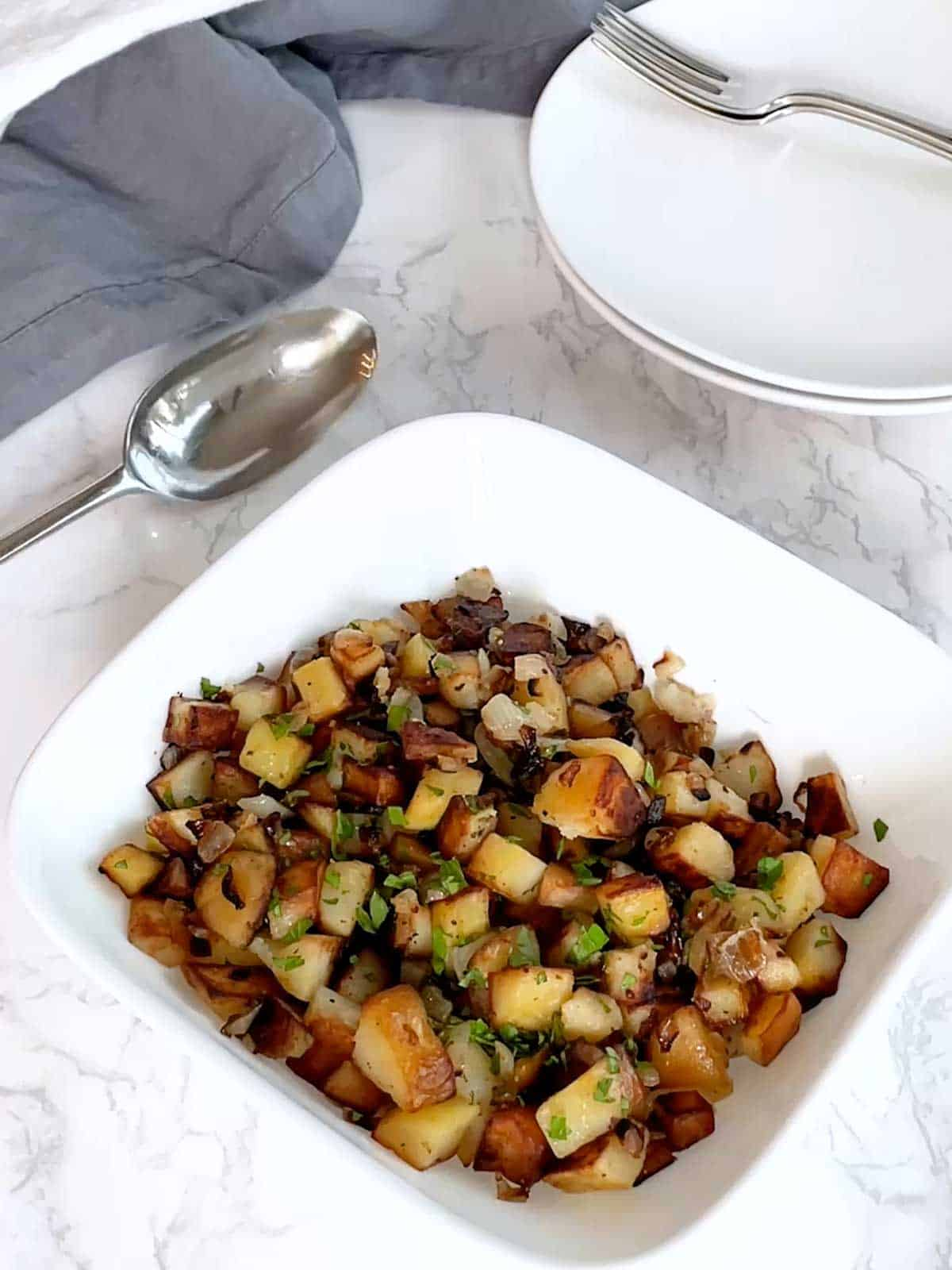 Fried Potatoes and Onions