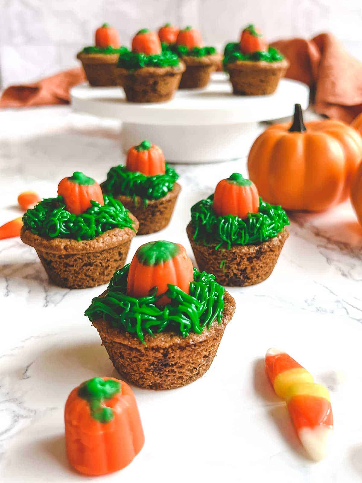 Pumpkin Patch Cookie Cups