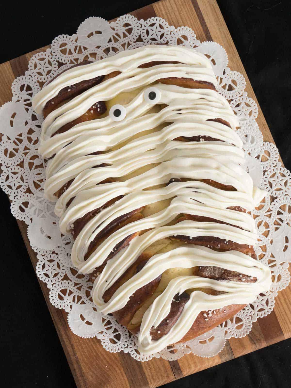 Yummy Mummy Lemon Curd Bread.